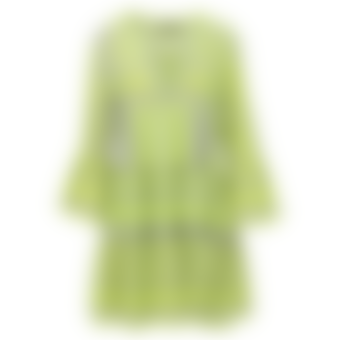 Devotion Twins Grey and Lime Ella Dress