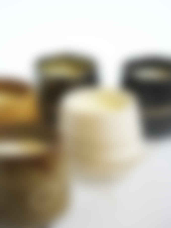 Pura Cal Aromatic Candle Ceramic Brown Vanilla