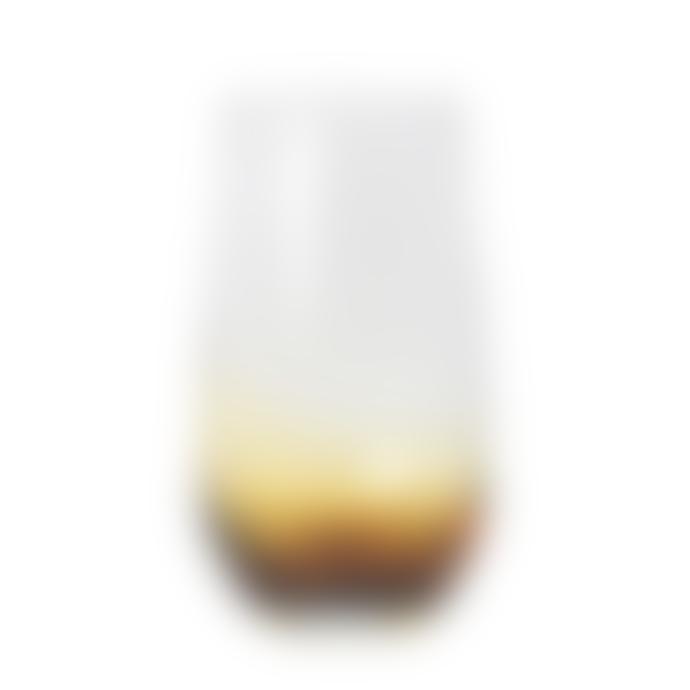 Broste Copenhagen Large Amber Mouthblown Tumbler