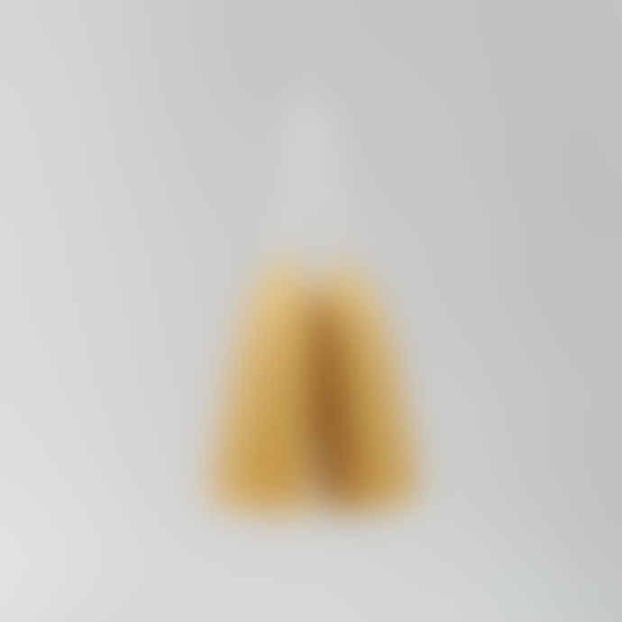 Moorlands Candles Pair of Stumpie Beeswax Candles