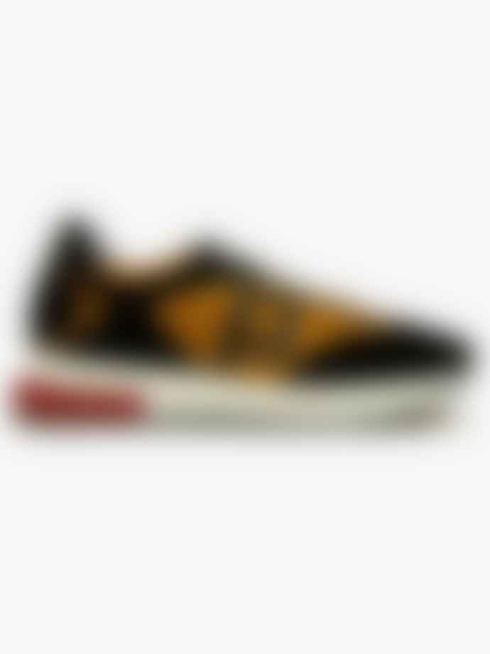 Philip Hog Mary Logo Trainers Shoes Black Ocra