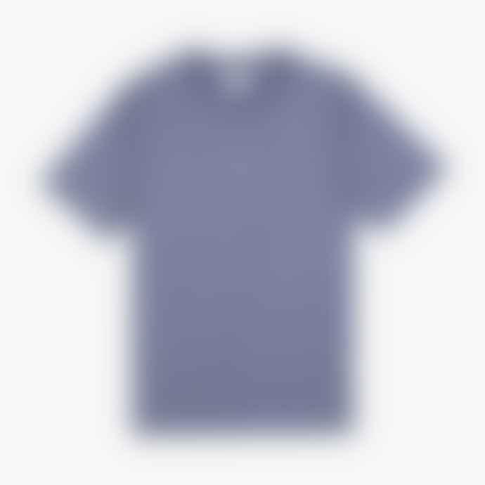 Parlez Ladsun Stripe T Shirt Dusty Blue