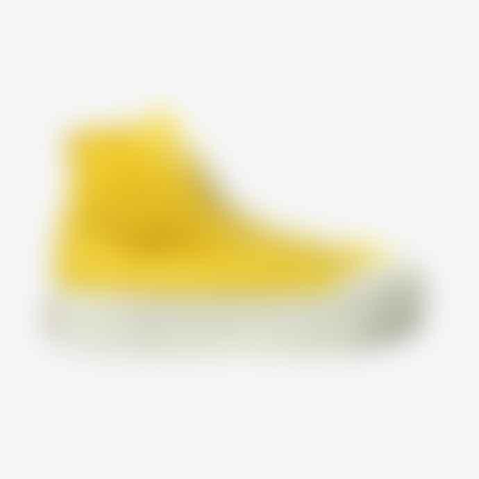 Good News  Softball High In Yellow Corduroy Sneaker