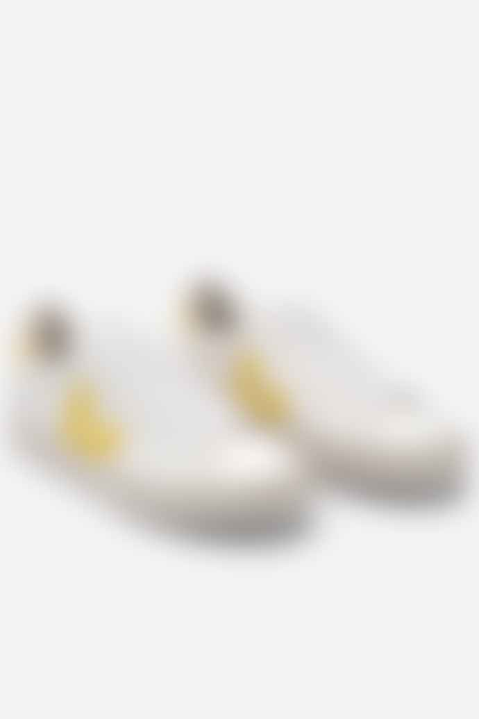 Veja Campo Leather White Tonic Womens Shoes