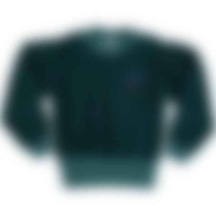 Picnik Velvet Sweatshirt Bottle Green