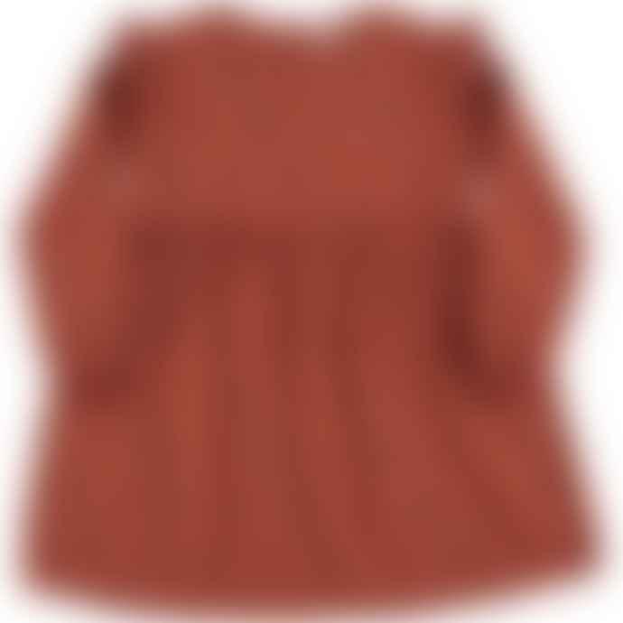 Picnik Colorful Polka Dot Dress
