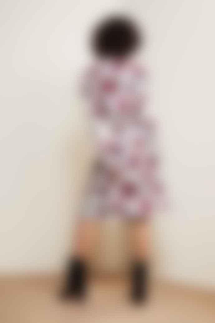 Fabienne Chapot Hayley Dress Purple Rain Roses