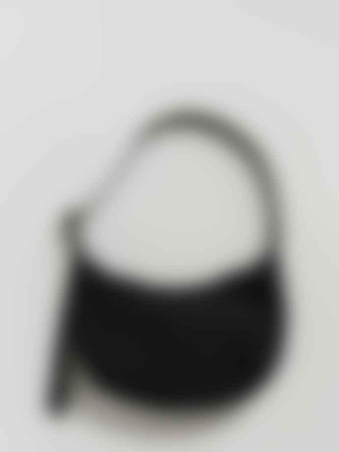 Baggu Medium Nylon Crescent Bag - Black
