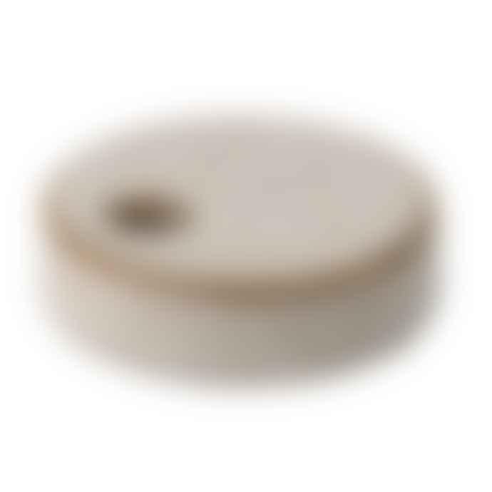 Bloomingville Ceramic Stoneware Mini Candle Stick Holders ( Set of 2 )