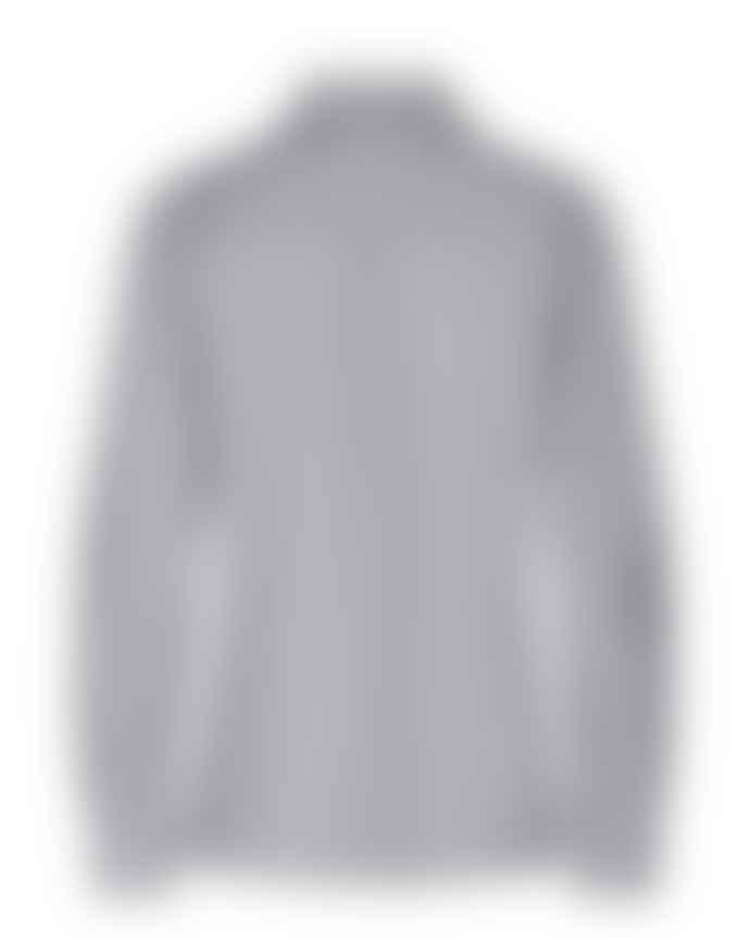 Mos Mosh Grey Martina Frill Mini Stripe Shirt