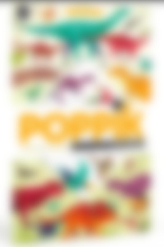 Poppik Sticker Panorama Dinosaurs