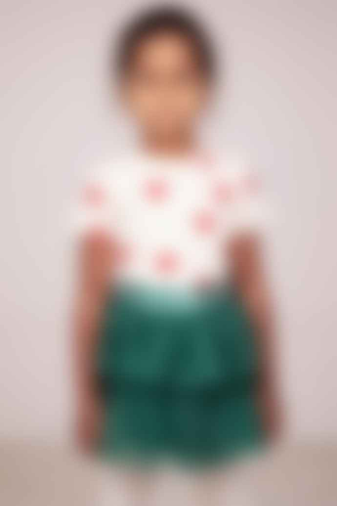Mini Rodini Green Tulle Skirt