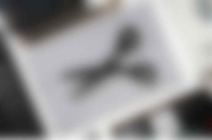 "Tools To Liveby Scissors 6.5"" in Black Metal"
