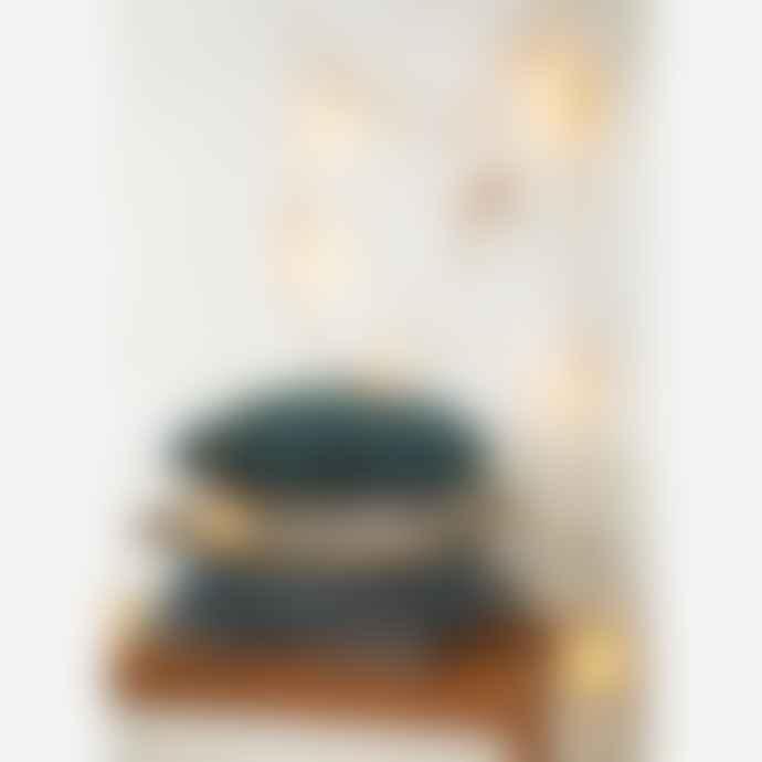 Madam Stoltz Corduroy Cushion W/ Fringes 50x50