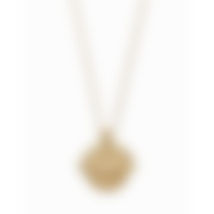 Nordic Muse 18k Gold Vermeil Zodiac Taurus Necklace NK - 0087 TAURUS