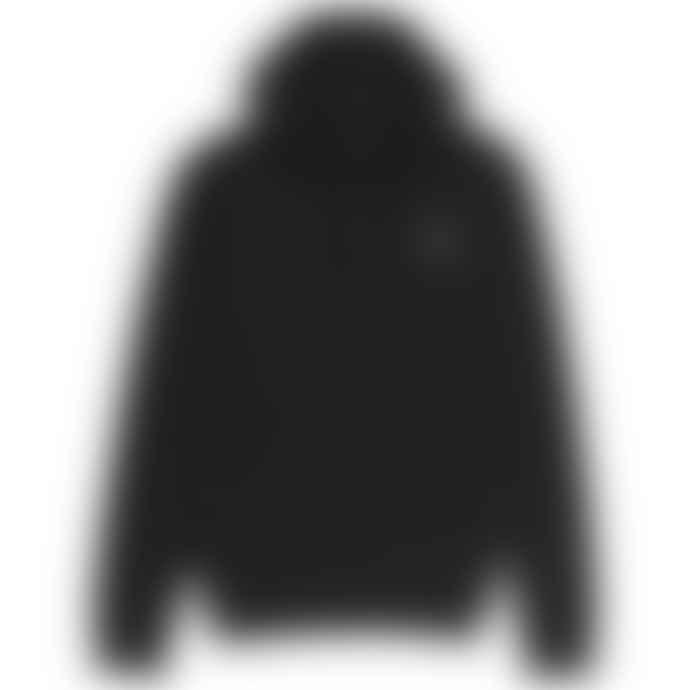 Emporio Armani  Clear Badge Overhead Hood Black