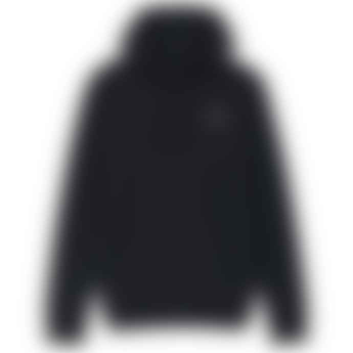 Emporio Armani  Navy Clear Badge Overhead Hood