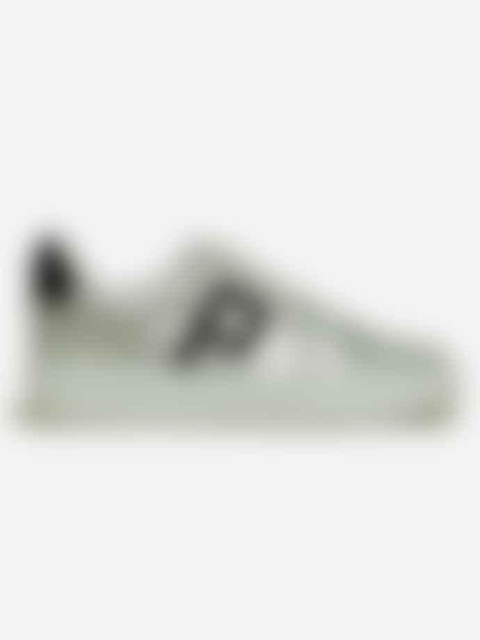 Philip Hog Emma Glitter Logo Trainers Shoes Silver Black