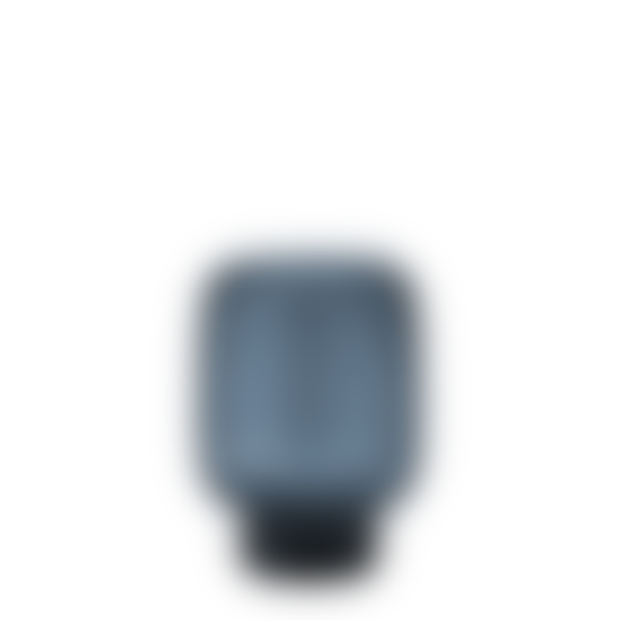 Stelton Small Midnight Blue Hoop Vase