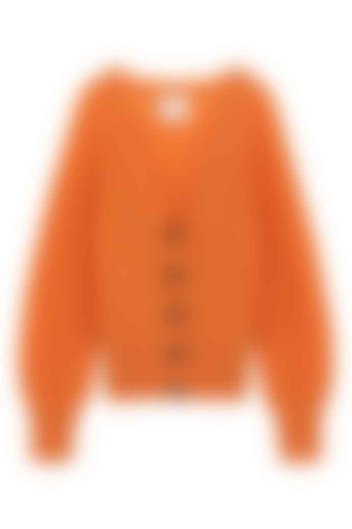 Leon & Harper Noisy Orange Cardigan