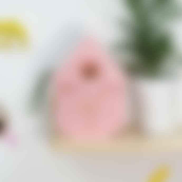 Fisura Pink Cuckoo Clock