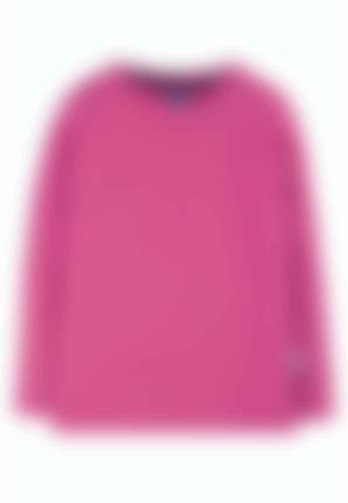 Frugi Pink Everyday Long Sleeve Tee