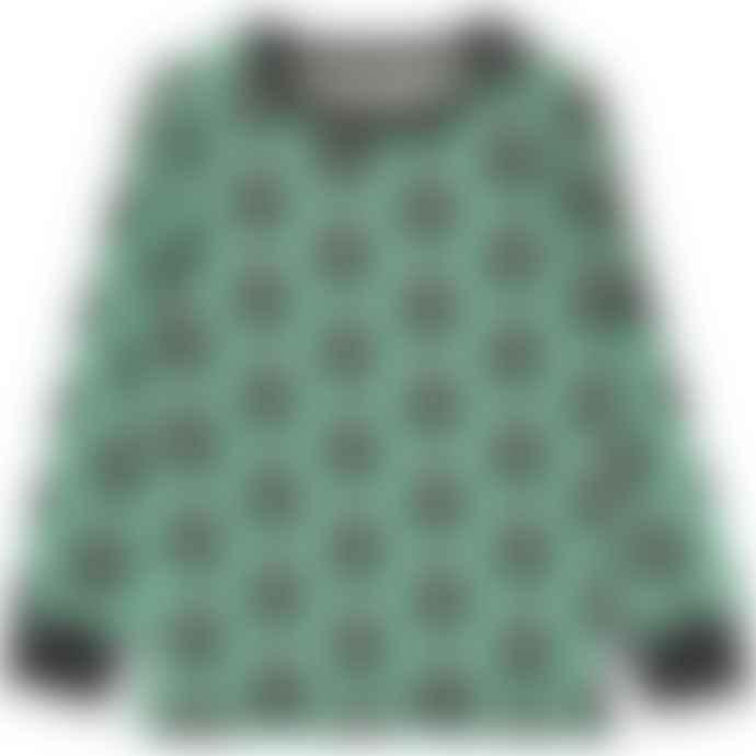 Maxomorra  Long Sleeve Skunk Top