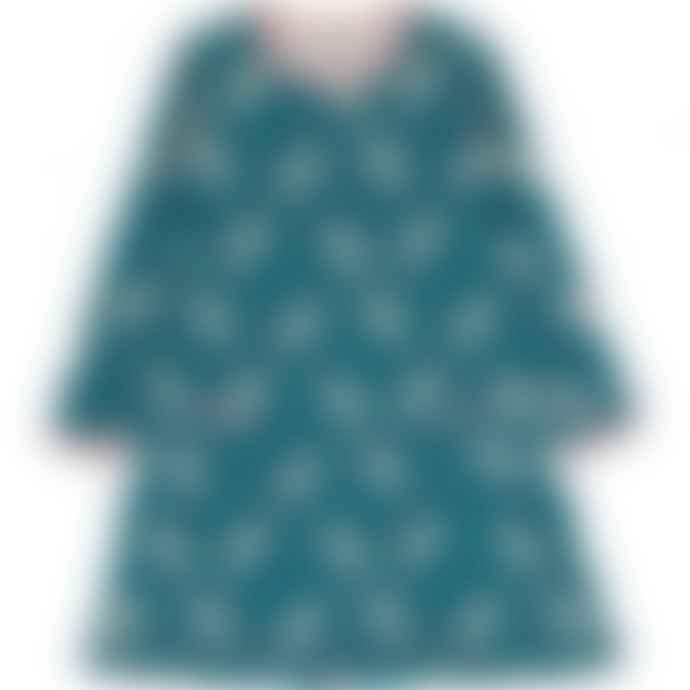 Maxomorra  Long Sleeve Unicorn Dream Dress