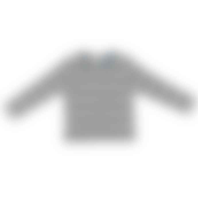 Bob and Blossom Slate and Stone Striped T Shirt