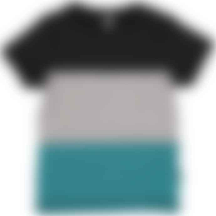 Maxomorra  Block Short Sleeve T Shirt