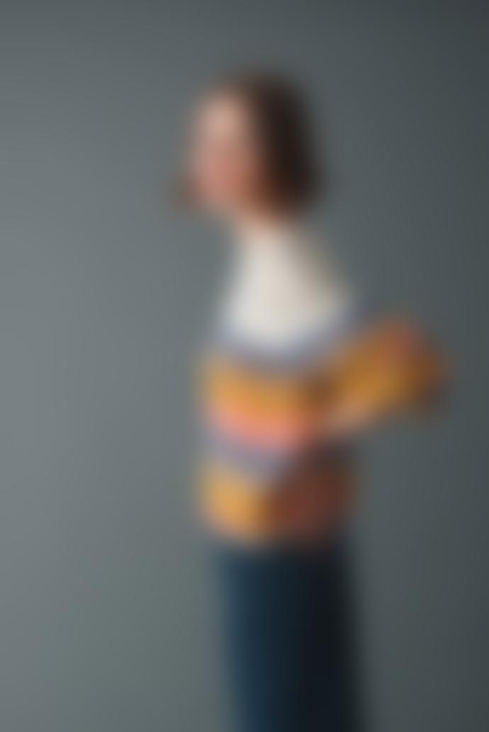 Indi & Cold Multicolored Stripes Sweater