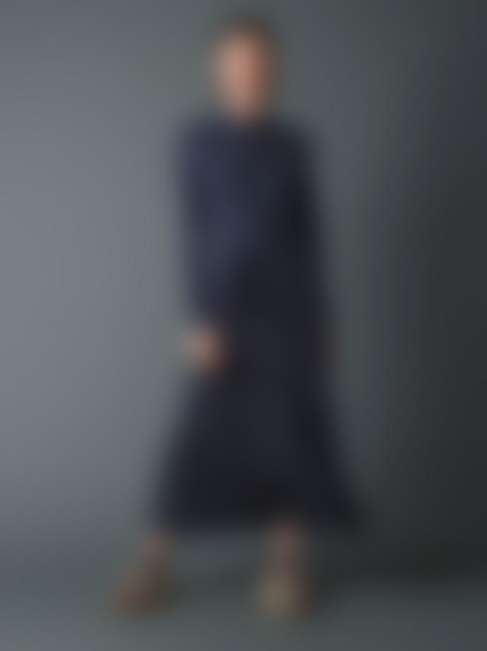 Indi & Cold Viscose Tricot Midi Dress