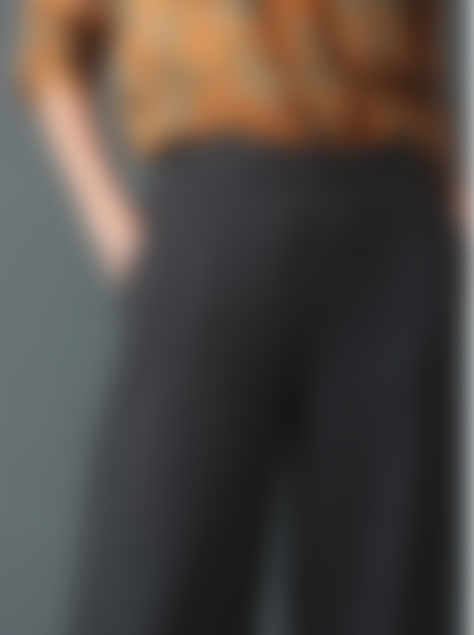 Indi & Cold Tailored Crop Trousers with Plaid Print