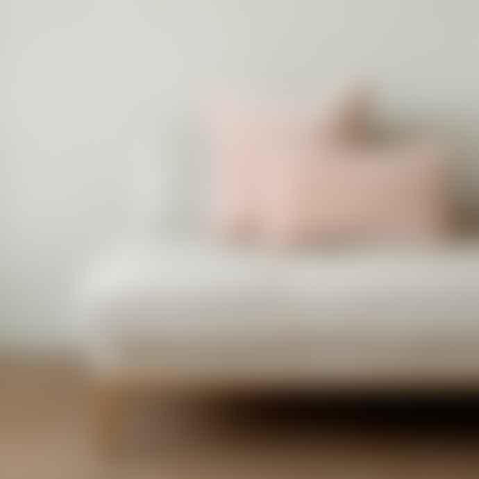 Also Home Shell Pink MISI Oblong - Velvet Cushion