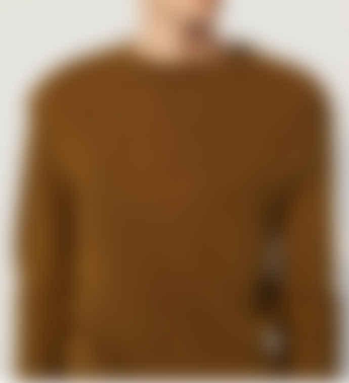 Le Mont St Michel Stevan Alpaca Sweater Khaki