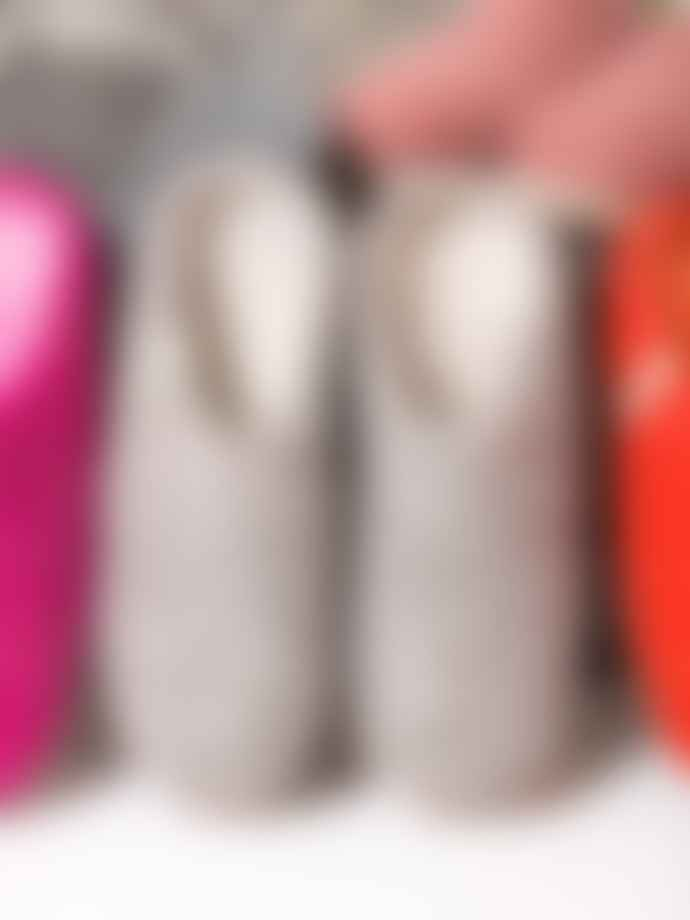 Egos Copenhagen Fair Trade Felted Wool Slippers -  Grey