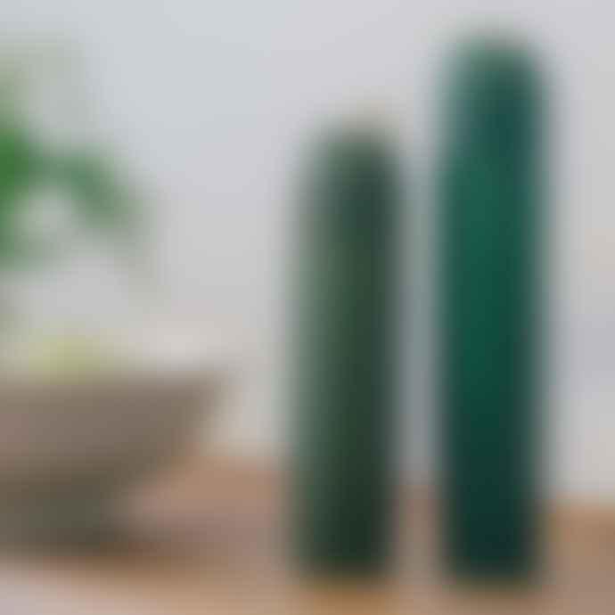 DOIY Design Cacti Salt Pepper Grinders Olive Green