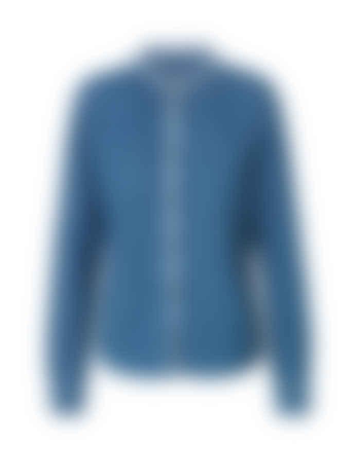 Mads Norgaard Light Indigo Shirt