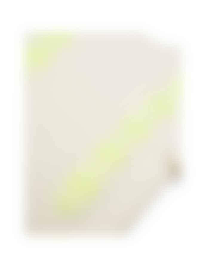 Mads Norgaard Recy Soft Knit Kalpa Ecru/Neon Yellow