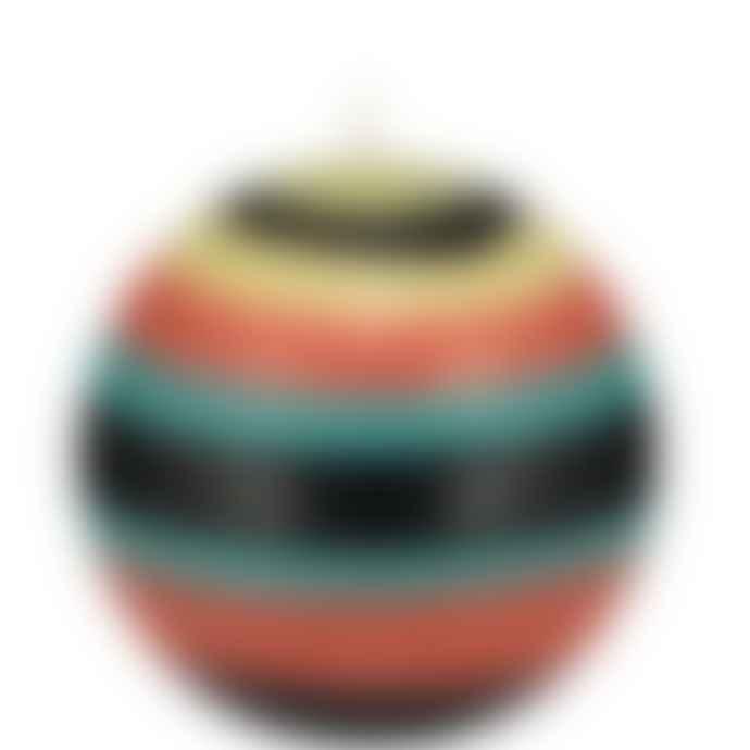 British Colour Standard Honey Bird Jet Jasmine Rust Eco Small Ball Candle