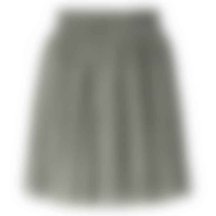 Yaya Pleated Mini Skirt with Print