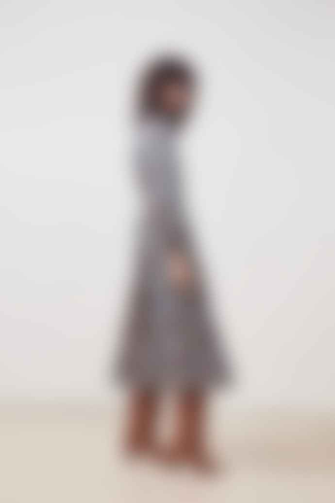 SUNCOO Carrine Floral Print Dress