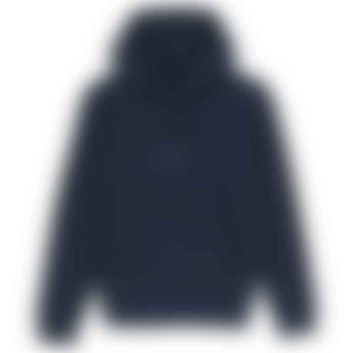 Born Essentials Organic Cotton Hooded Sweat French Navy