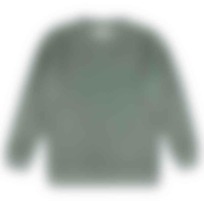 Castart Bill Inside Out Sweater Sea Moss