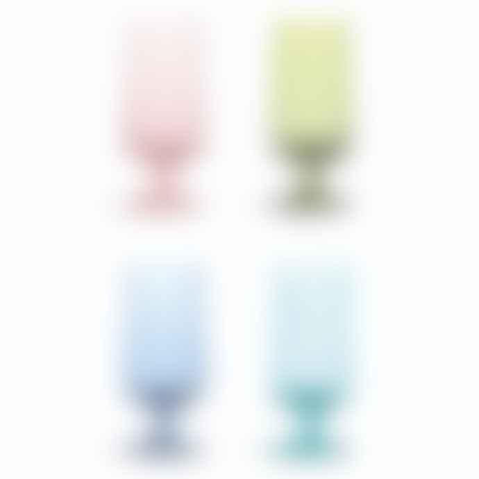 &klevering Colour Beer Glass- Set of 4