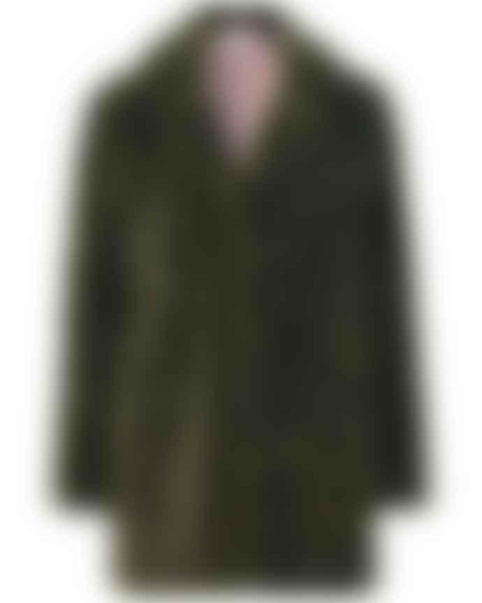 Rosemunde Faux Fur Jacket Black Olive