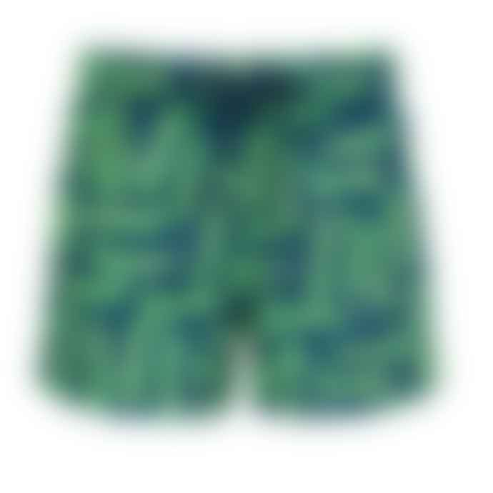 Sunuva Green Sunuva Crocodile Swim Shorts