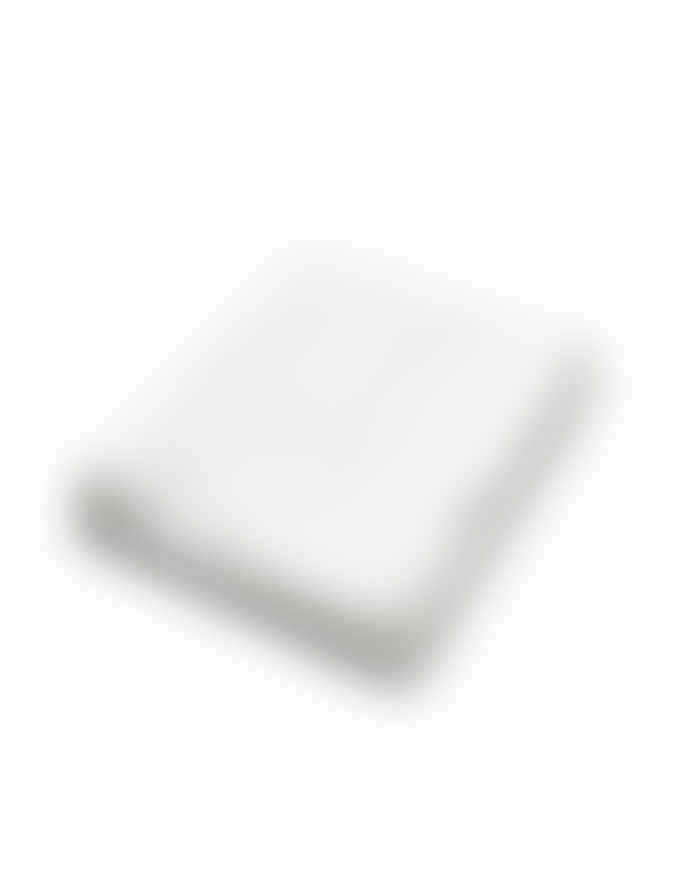 AB Småland 240x260cm Double Optical White Linen Sheet