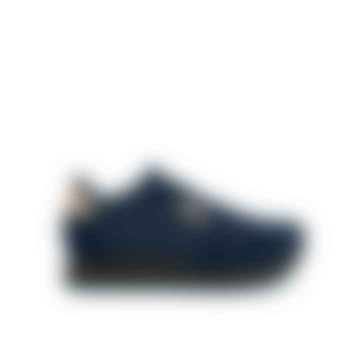 Woden Nora II Plateau Navy Trainers