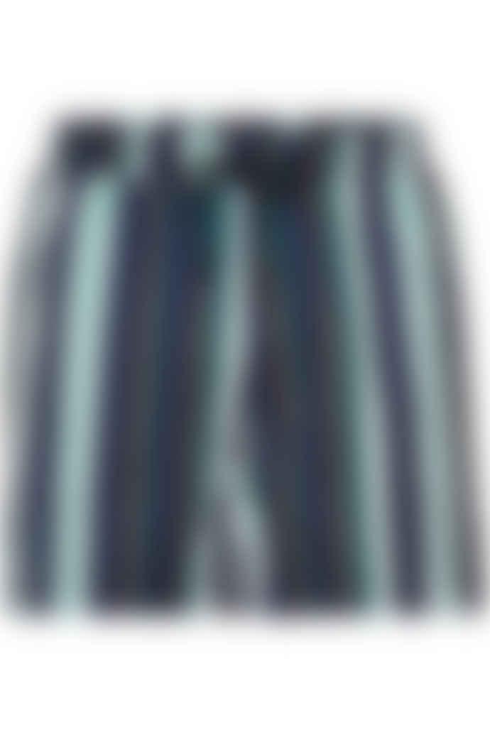 Anerkjendt Multicolour Striped Swim Shorts